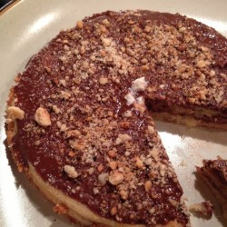 Toasted Hazelnut Chocolate Torte