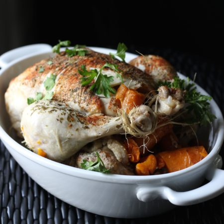 Rotisserie Crockpot Chicken
