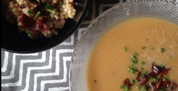 Creamy Butternut Squash Soup {Dairy Free/Paleo/AIP}