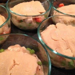 grain free, dairy free chicken pot pie
