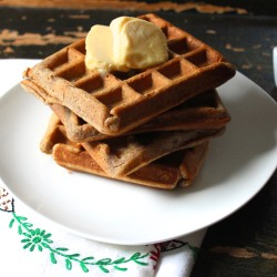 Guilt Free, Grain free Waffles