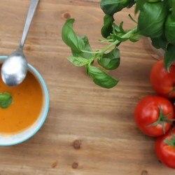 Creamy Tomato Basil Soup (Paleo)