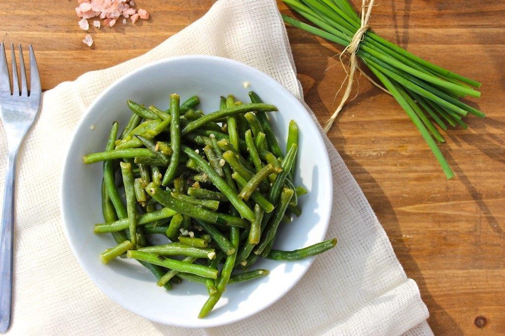 Chive + Garlic Green Beans