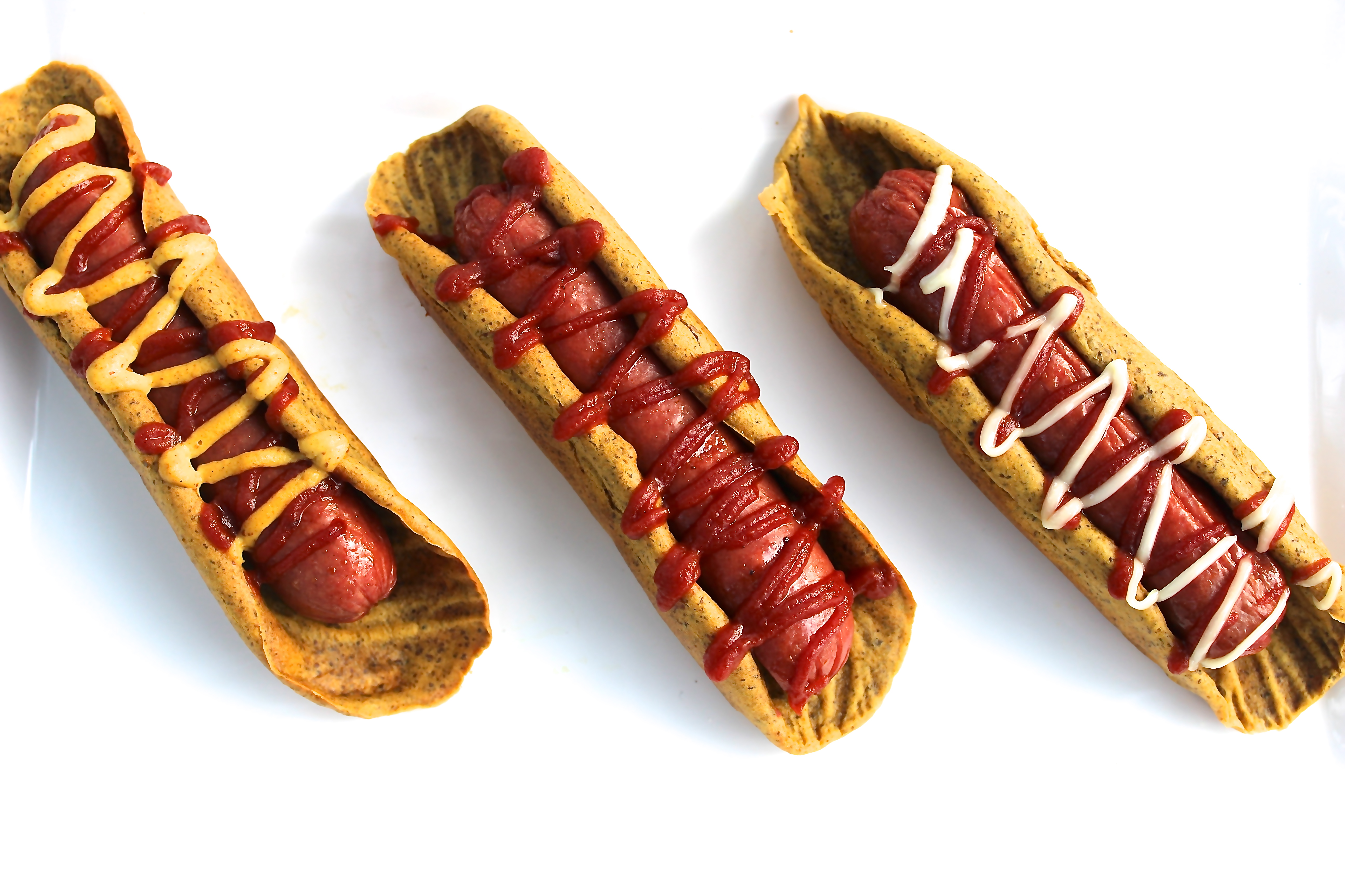 Long Hot Dog Roll Over