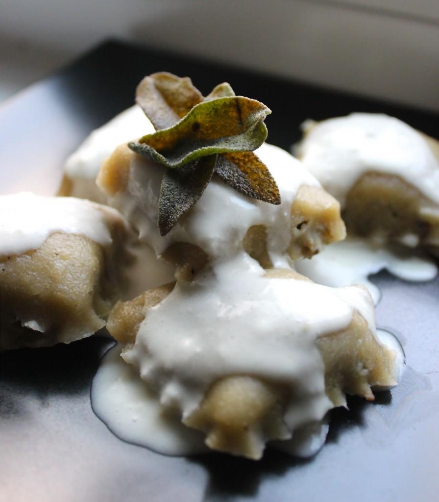 Paleo Mushroom Ravioli