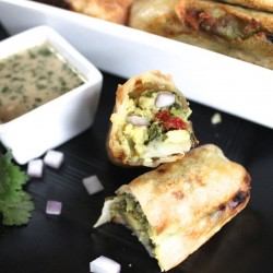 CHEESECAKE FACTORY COPYCAT AVOCADO EGGROLLS