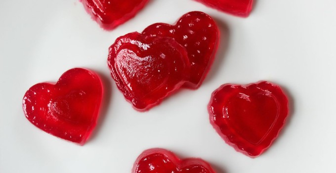 Homemade Valentine's Day GUMMIES