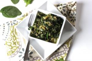 Creamed Spinach {Vegan/Paleo}