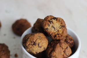 Paleo Fried Chocolate Chip Cookies
