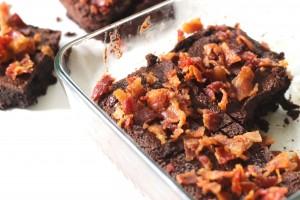 Bacon Nutella Brownies