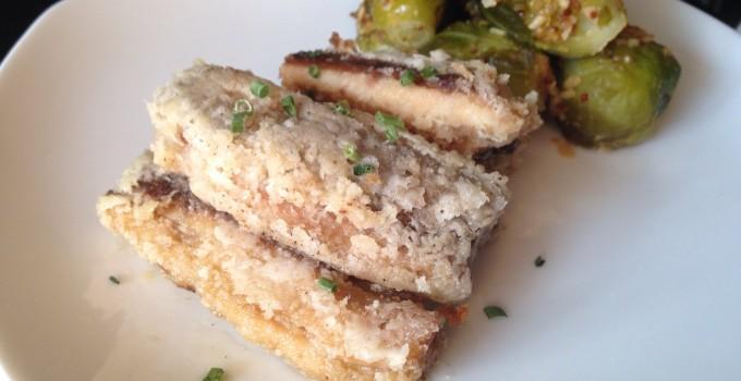 Paleo Fried Sardines