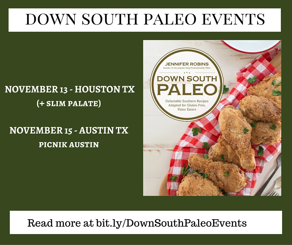 DOWN SOUTH PALEO EVENTS