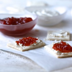PALEO CREAM CHEESE & PEPPER JELLY