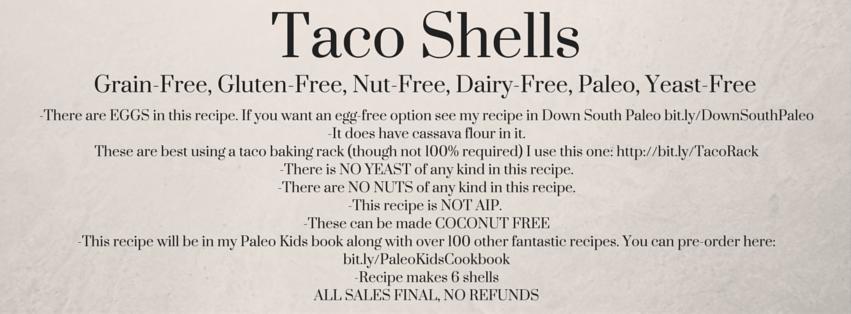 Taco Shells $1 Menu