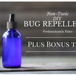 Non-Toxic DIY Bug Repellant
