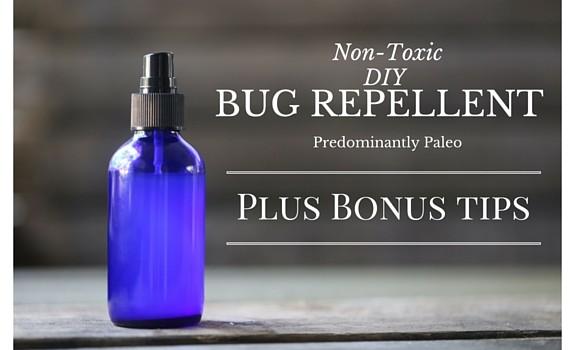 Non-Toxic DIY Bug Repellant