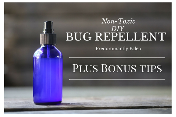 Non-Toxic DIY Bug Repellent