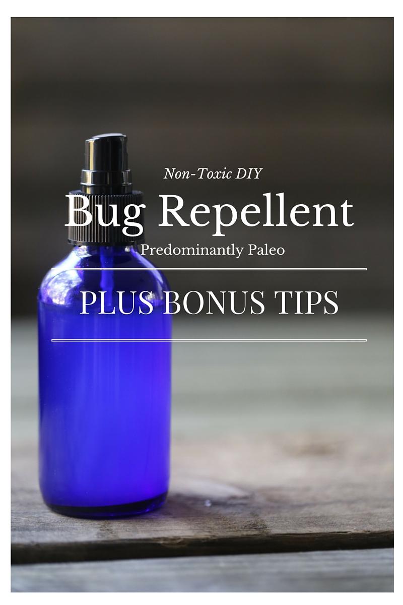 Non-Toxic DIY Bug Repellent