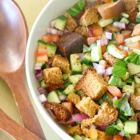 Paleo Panzanella Bread Salad