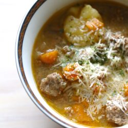 Instant Pot Paleo Hamburger Soup