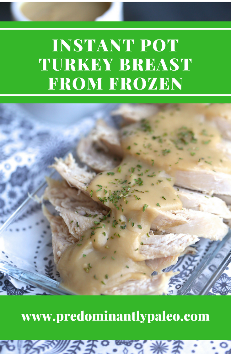 INSTANT POT TURKEY BREAST FROM FROZEN