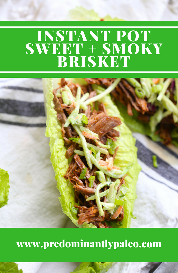 EMEALS INSTANT POT SWEET AND SMOKY BRISKET