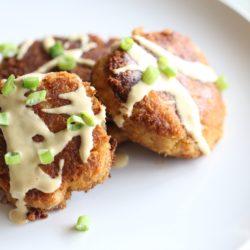Paleo Chipotle Crab Cakes