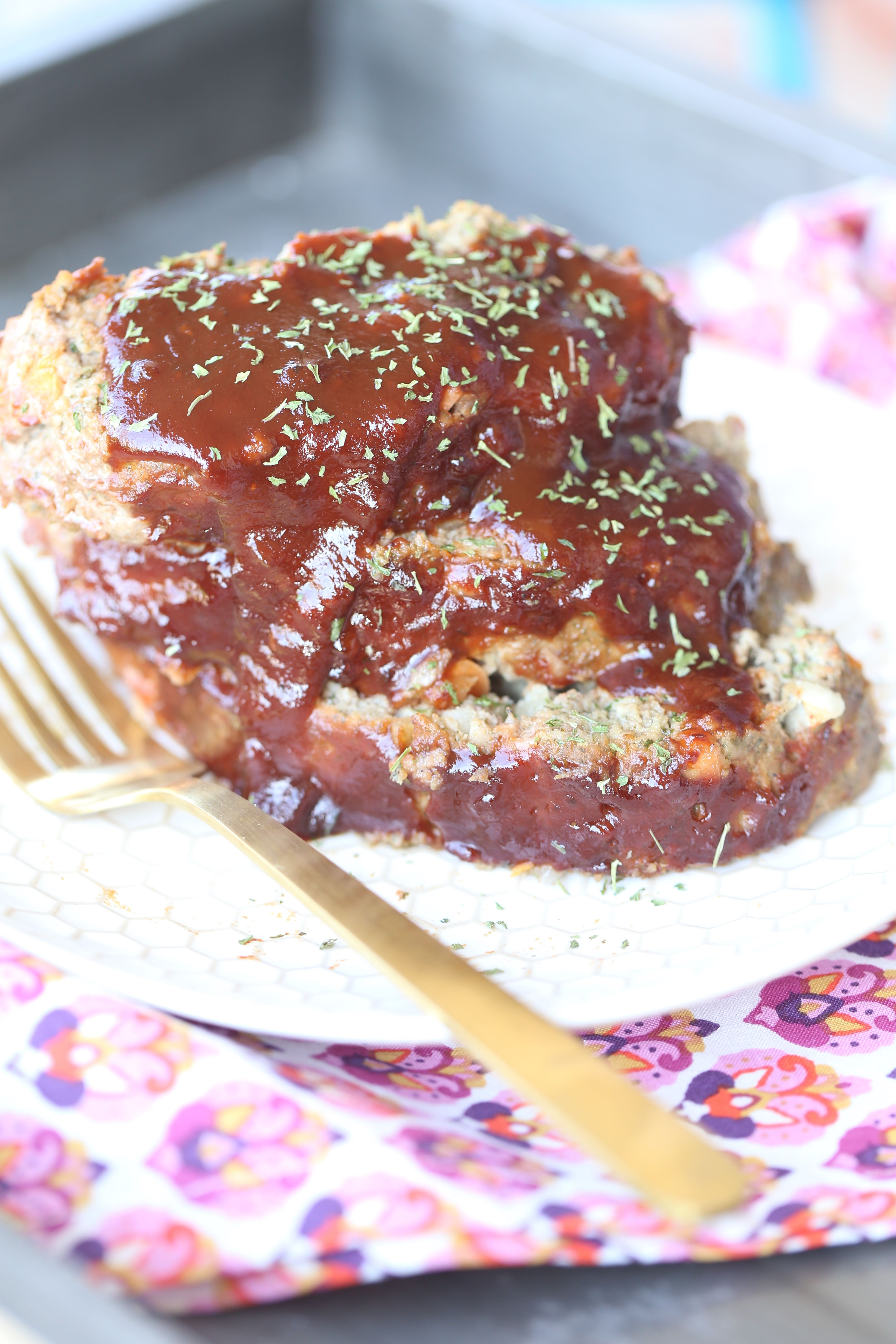 Paleo BBQ Ranch Meatloaf