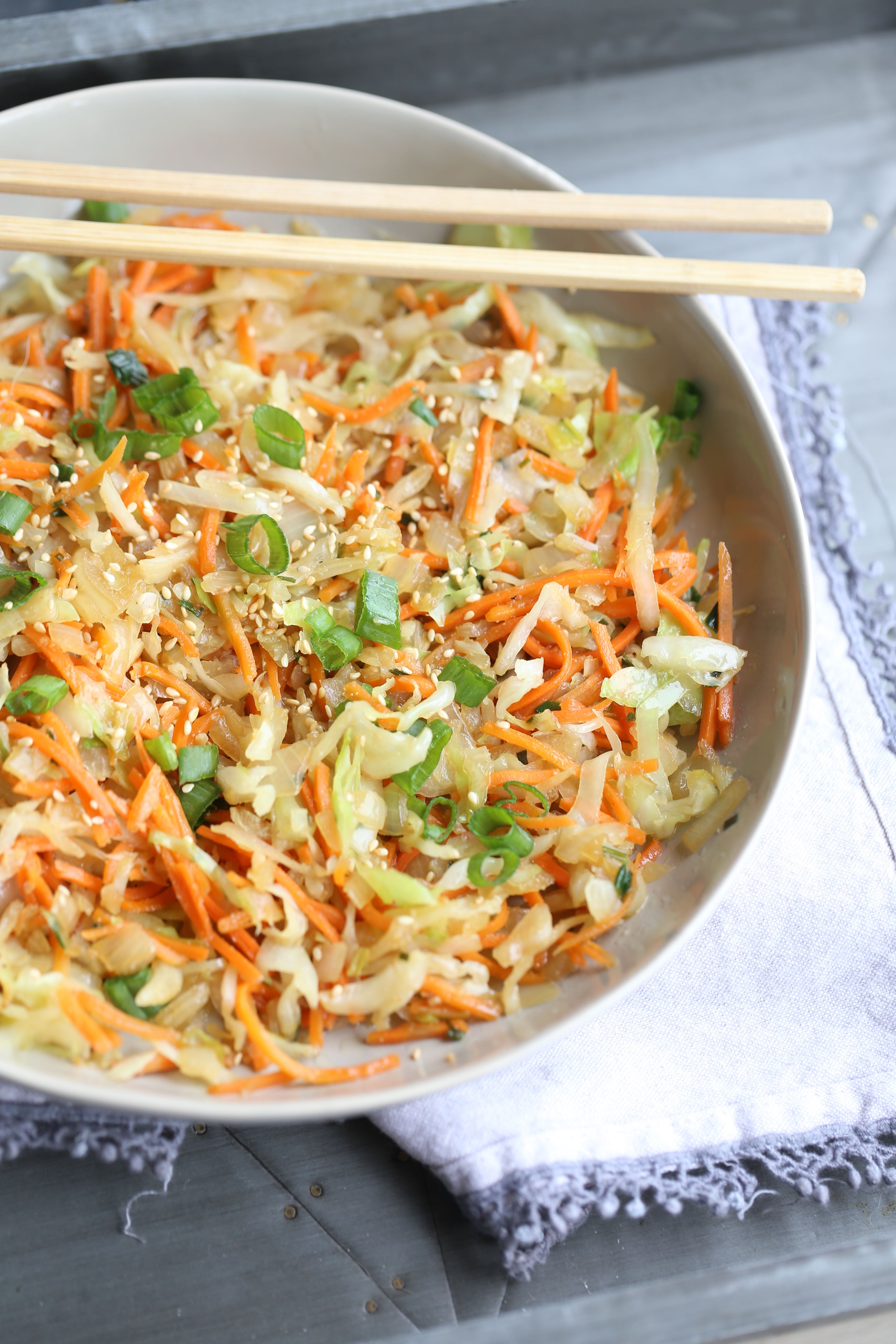Short Cut Sides: Vegan Asian Stir Fry