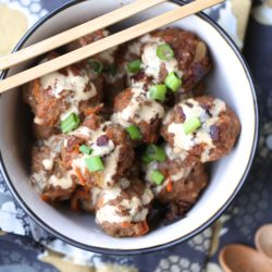 Instant Pot Paleo Egg Roll Meatballs