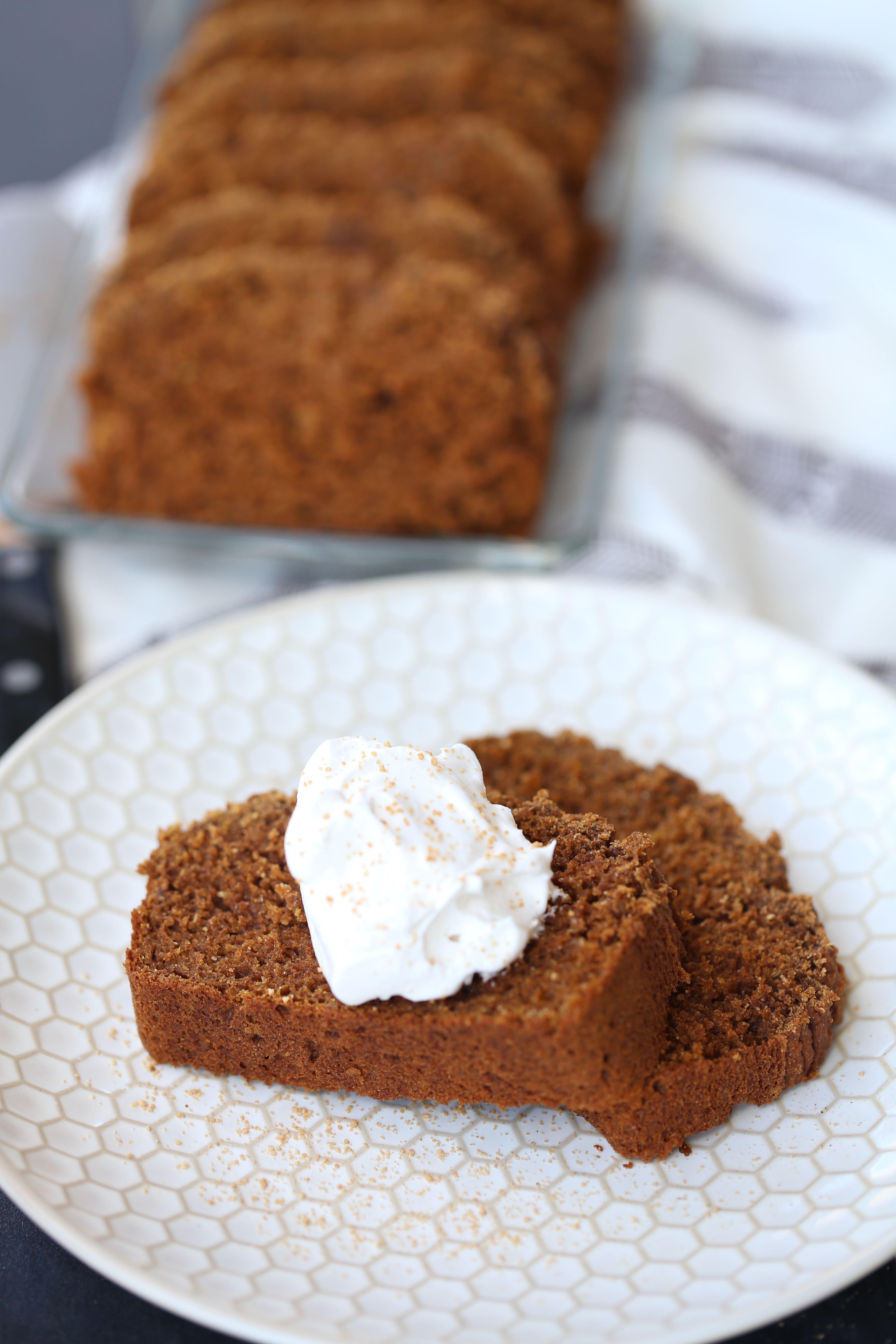 Legit Paleo Pumpkin Loaf