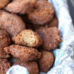 Paleo Apple Cider Fritters