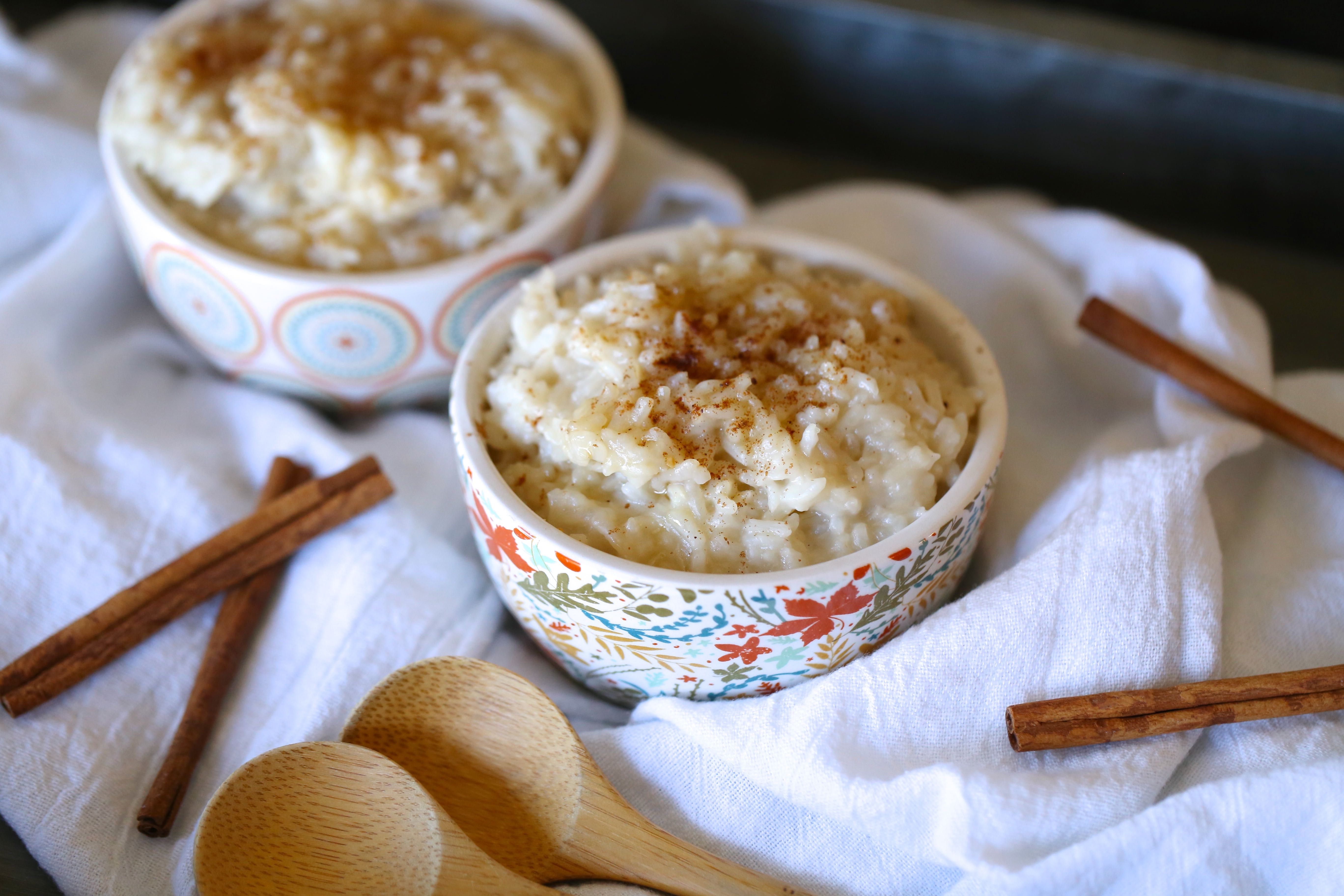 Perfect Dairy Free Instant Pot Rice Pudding