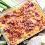 Veggie Packed Bacon Buffalo Chicken Dip