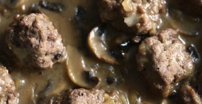 Paleo Beef Meatball Marsala