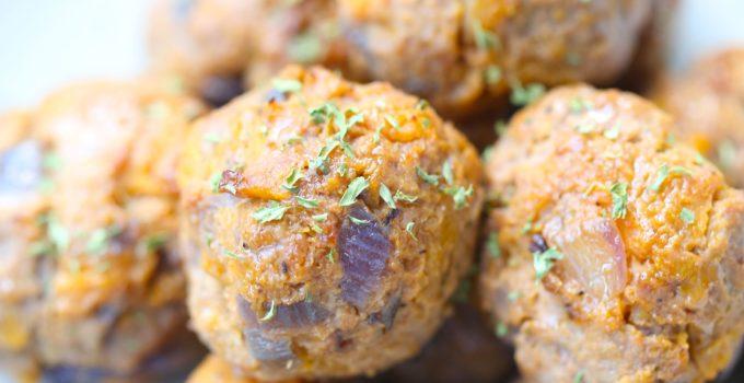 Veggie Packed Air Fryer Meatballs