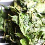 Air Fryer Crispy Spinach