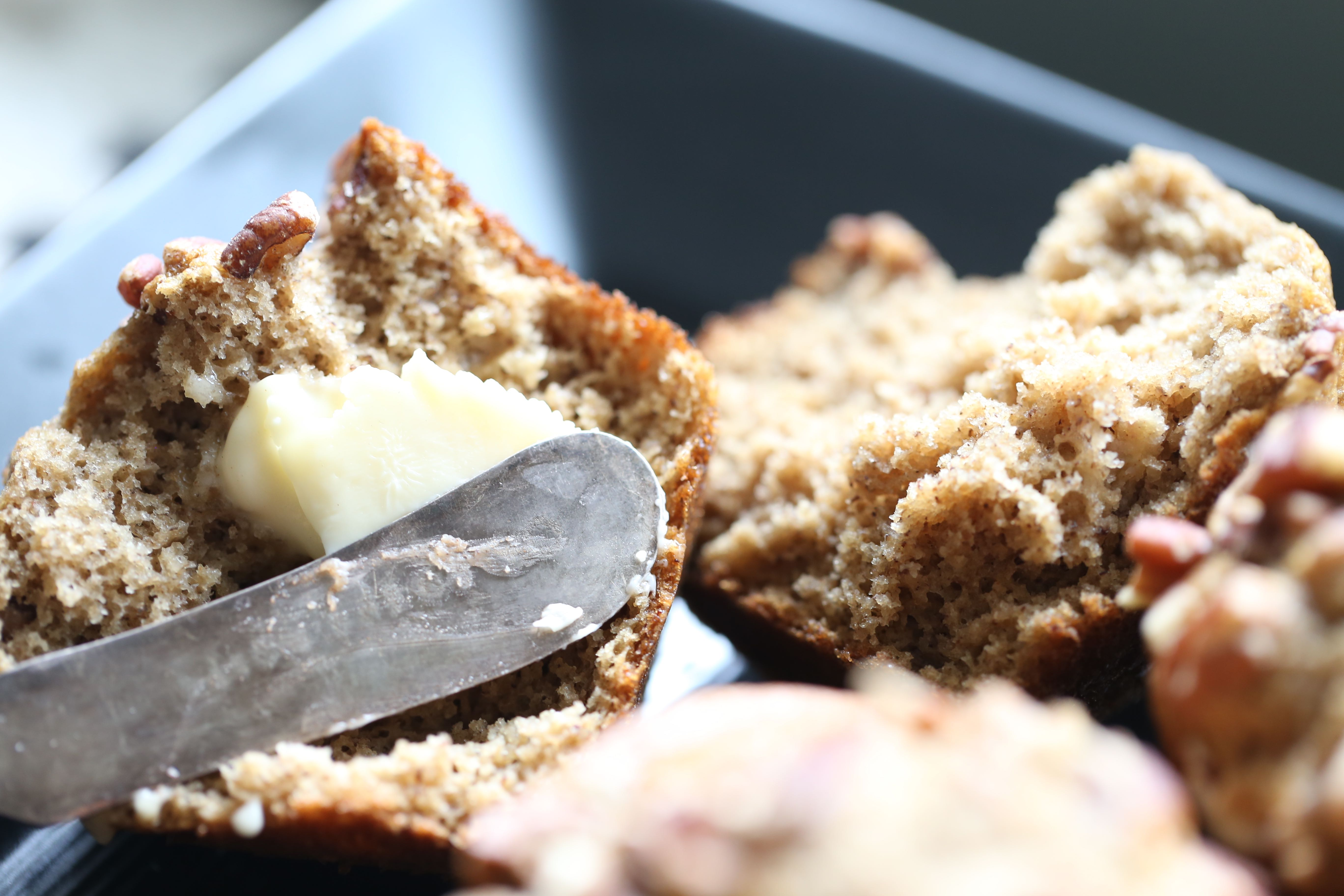 Paleo Fall Spiced Banana Muffins