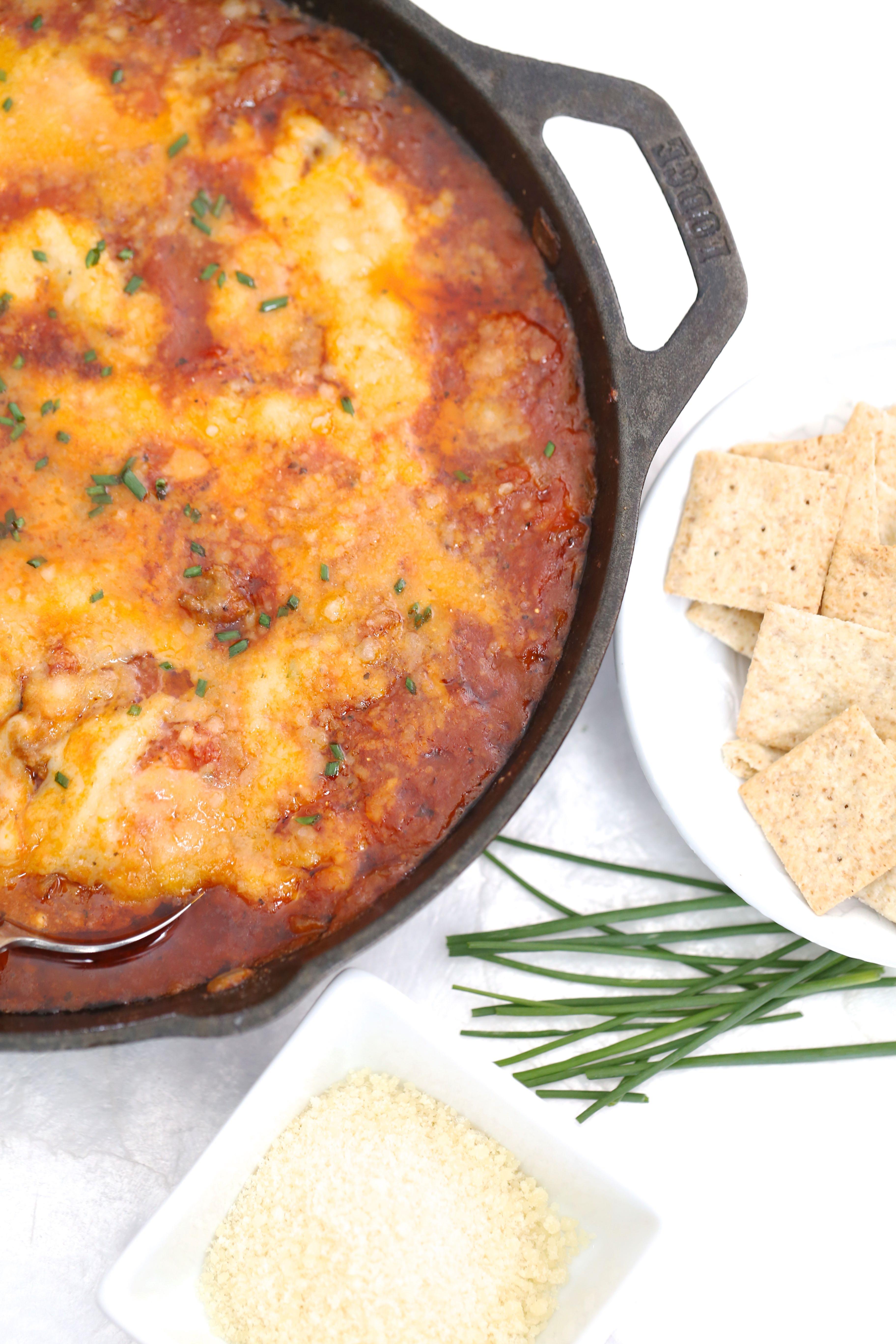 Paleo Lasagna Dip