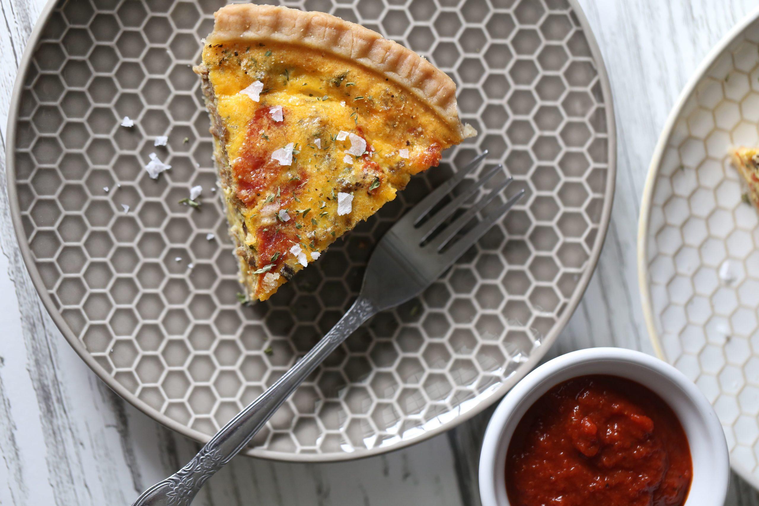 Supreme Paleo Pizza Quiche