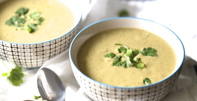 Cilantro Detox Soup