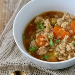 Autoimmune Friendly Feel Better Soup