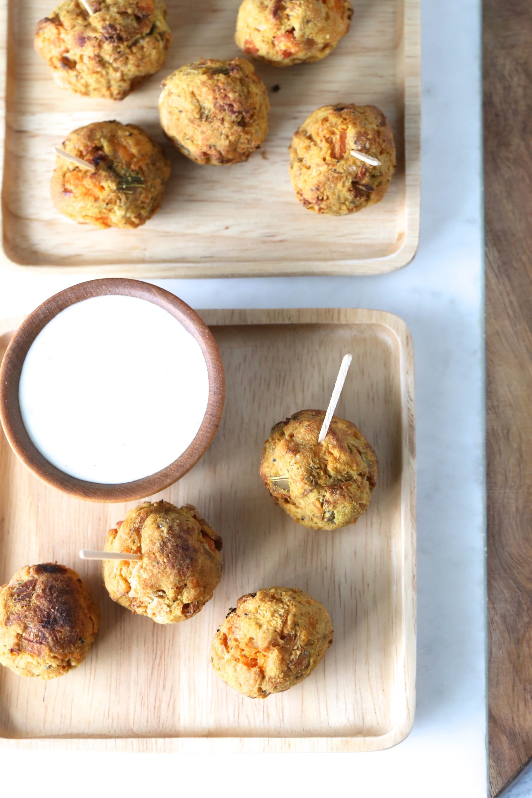 Air Fryer Mirepoix Veggie Bites