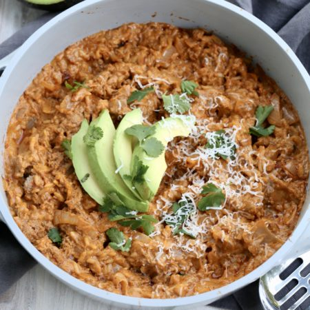 Gluten Free Enchilada Rice Bowl