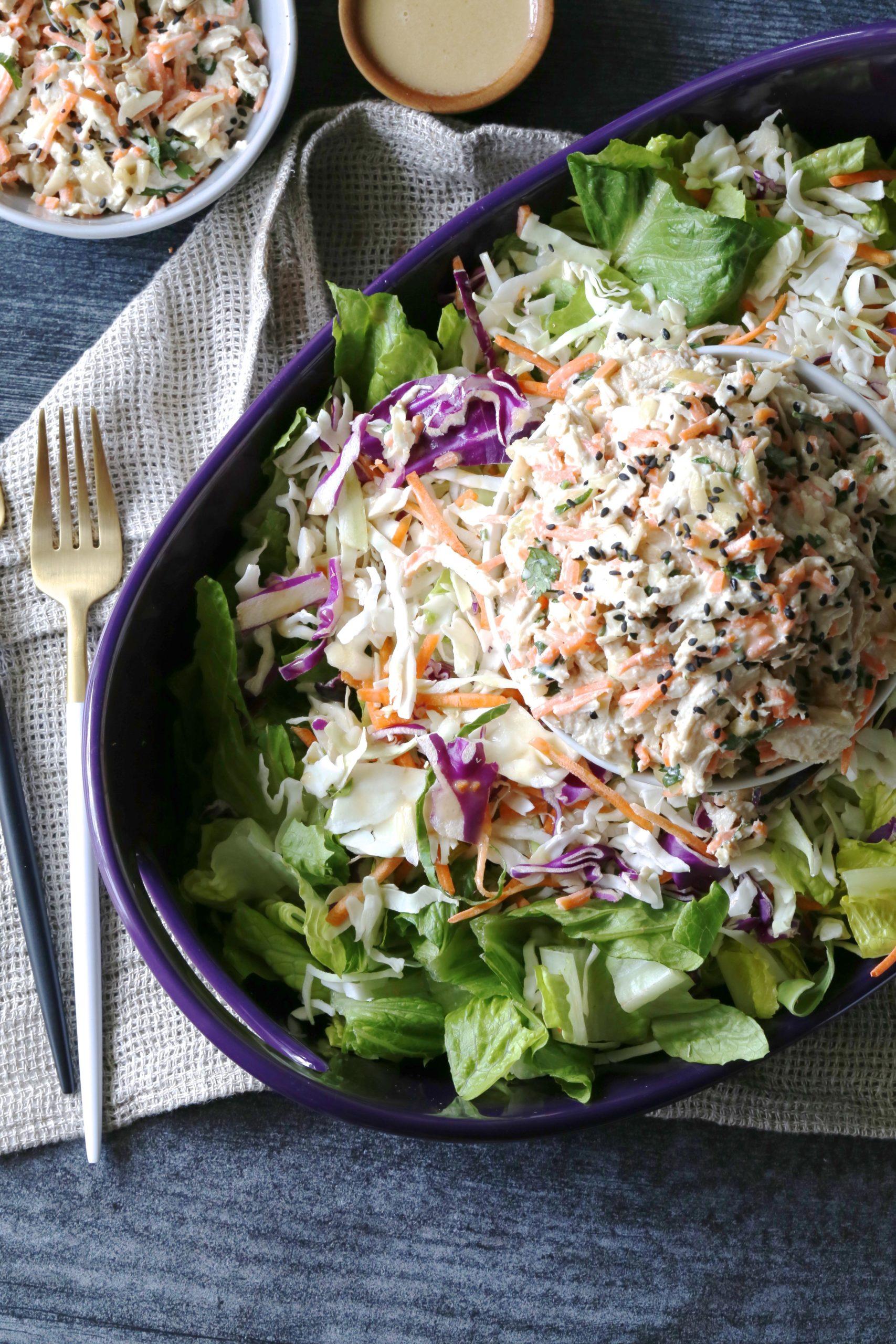 Instant Pot Asian Chicken Salad