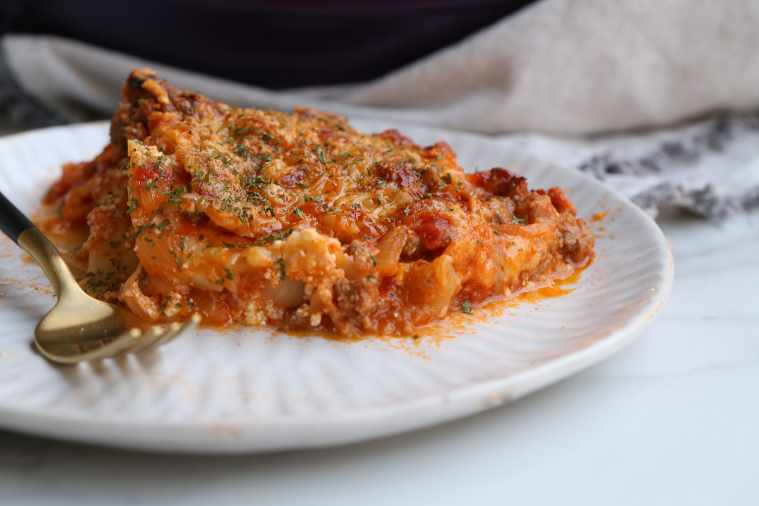 Low Carb Grain Free Lasagna
