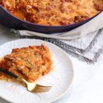 Low Carb Grain Free Lasagna