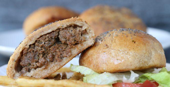 Paleo Loaded Burger Stuffed Buns