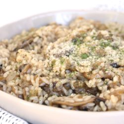 Marsala Mushroom Risotto