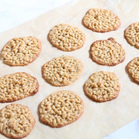 Gluten Free Crispy Rice Cookies
